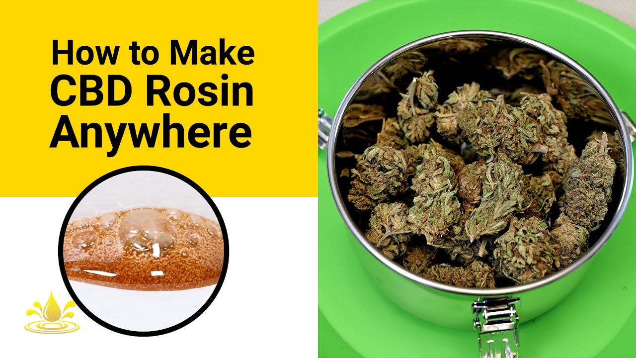 How to Make CBD Rosin Dabs At Home