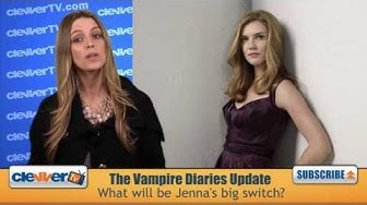 Sara Canning Talks The Vampire Diaries