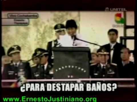 evo morales  contra los calvos, gays y la Coca Cola en la Conferencia Cambio Climático bolivia.