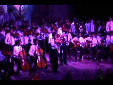 The Orchestra of Dharmaraja College Kandy @ Kala Ulela 2013