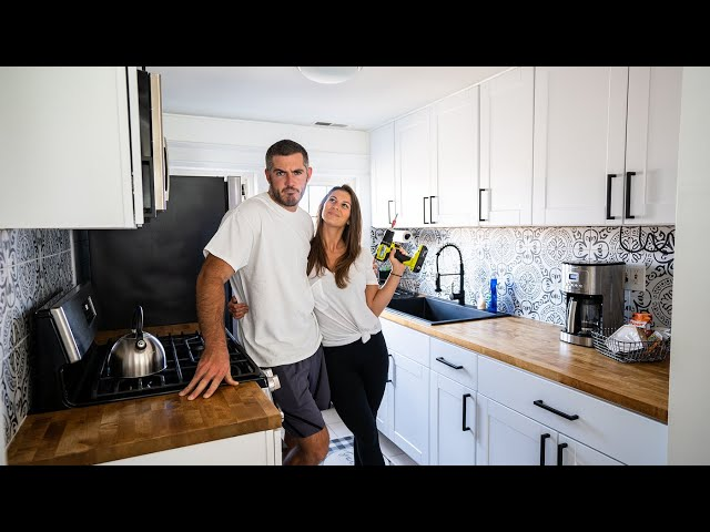 DIYers Renovate Kitchen in 10 Days for Rental Unit