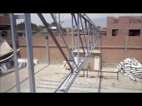 Como fabricar un techo de tijerales y coberturas www for Modelos de techos metalicos para casas
