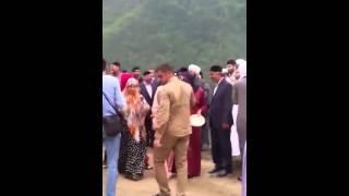 Свадьба высоко в горах Чечни
