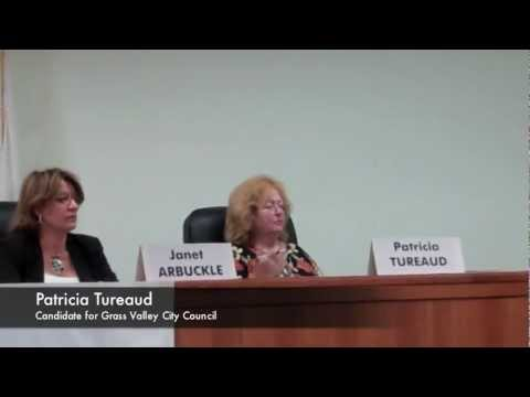 Grass Valley City Council Candidate Forum: Patricia Tureaud