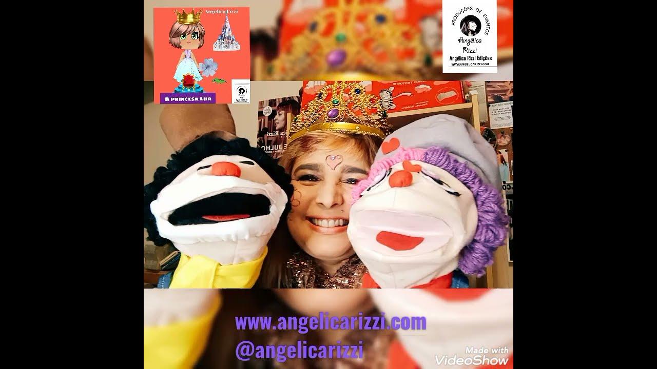A Princesa Lua - um conto de fadas de Angélica Rizzi
