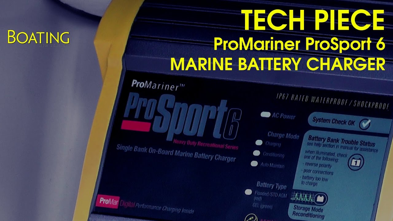 tech piece promariner prosport 6 amp marine battery charger youtube prosport 6 amp wiring diagram [ 1280 x 720 Pixel ]