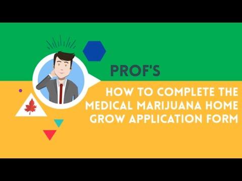 Medical Marijuana Home Grow App Form