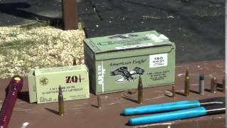 Green Tip Armor Piercing - Steel Core Ammo - ZQ1 Armor Penetration Comparison