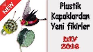Plastik Şişe Kapaklarından Neler Yapılır | Use Plastic Taps For New Diy ideas