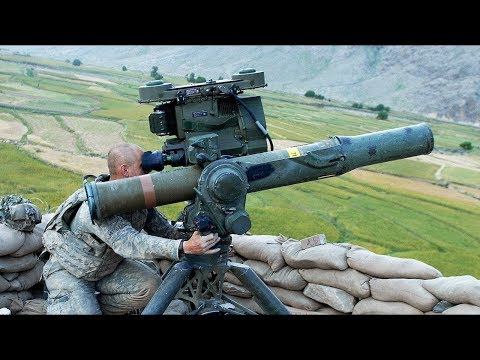 BGM-71 TOW Anti-Tank Guided Missile in Action - Target Shooting Live-Fire