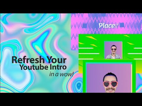 YouTube Intro Maker | Create an Intro in Minutes | Placeit