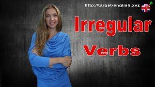 Неправильные глаголы. Irregular verbs. Уроки английского