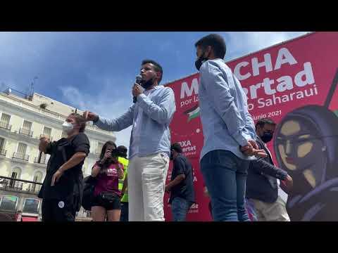 El Sáhara Occidental invade Madrid con su Marcha por la Libertad