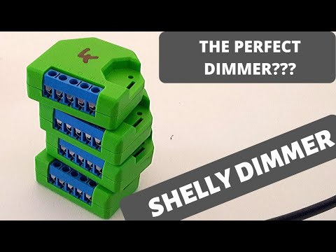 Shelly Dimmer Installation - The Perfect Dimmer???????