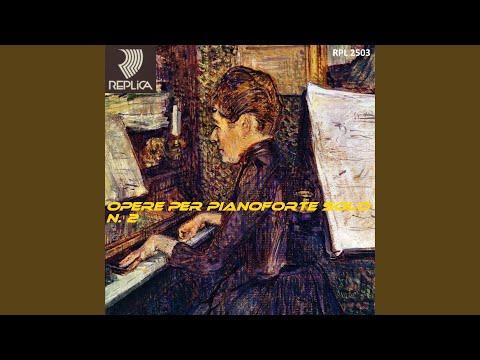 Paderewski: Melodia Op. 8, No. 3: Canto del viandante