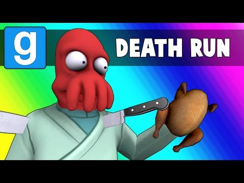 Thumbnail: Gmod Deathrun Funny Moments - Thanksgiving Edition! (Garry's Mod)
