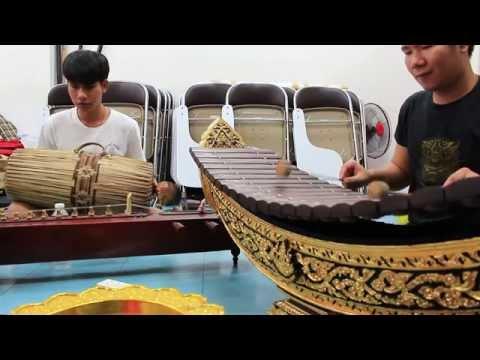 Happy birthday - Thai Xylophone and Thai Drum