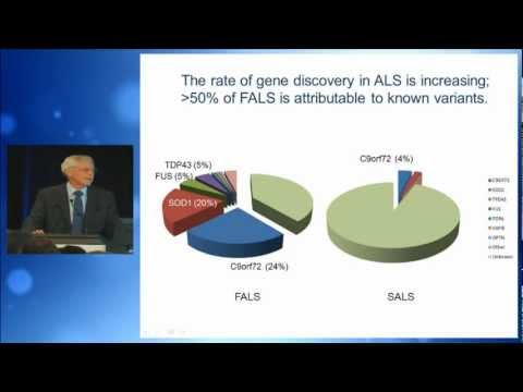 2011, Professor Robert Brown Jr, Lessons from ALS/MND Genetics
