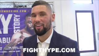 TONY BELLEW INSISTS HE'S GOING TO KNOCK OUT ILUNGA MAKABU: