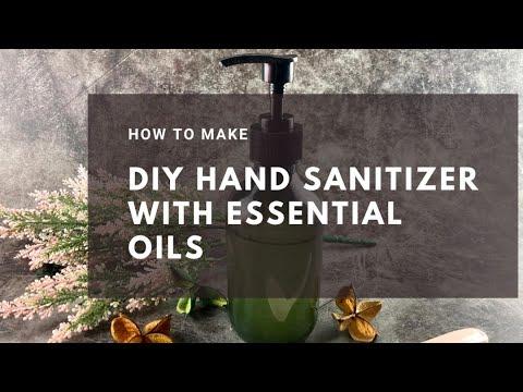 How To Make DIY Hand Sanitizer