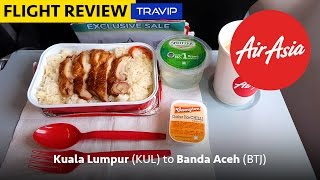 AirAsia Full Flight Review: Kuala Lumpur to Banda Aceh | Travip Flight Review