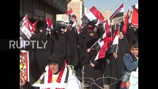 Iraq  Thousands rally in pro Sadr demo in Baghdad