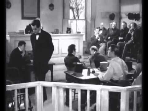 Young Mr  Lincoln (1939) Gotcha Scene