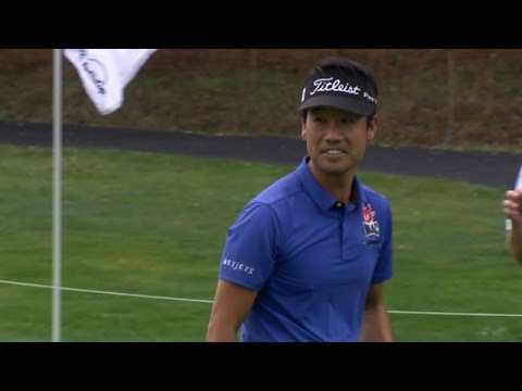 Kevin Na flashes his short game and a smile at Safeway
