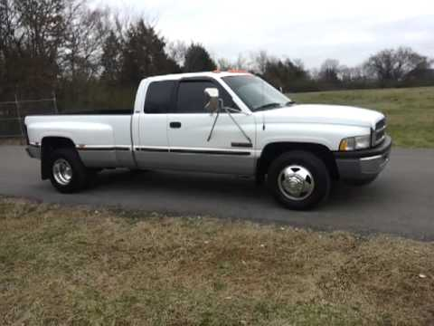 sold 1999 dodge ram slt 3500 quad cab 4x2 cummings diesel. Black Bedroom Furniture Sets. Home Design Ideas
