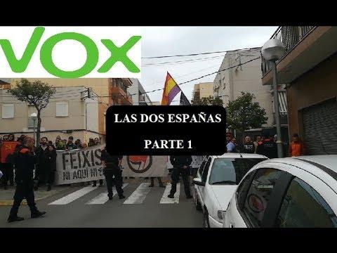 LAS DOS ESPAÑAS - INTENTO DE BOICOT A VOX EN BONAVISTA (TARRAGONA)-  PARTE 1 - Reportaje político