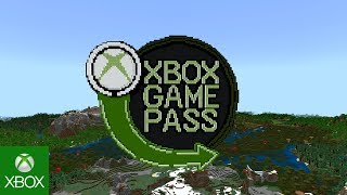 Minecraft now available with Xbox Game Pass!