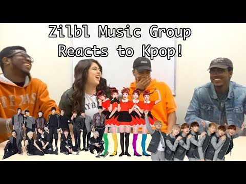 MUSIC GROUP REACTS TO KPOP! (BTS, SEVENTEEN, RED VELVET)