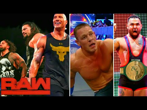 WWE Monday Night Raw - 22nd July 2019 Highlights ! The Rock Reunites Samoans ! 4 Things Could Happen