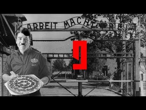 Papa Johns Nazi Kitchen - Arab in Rome