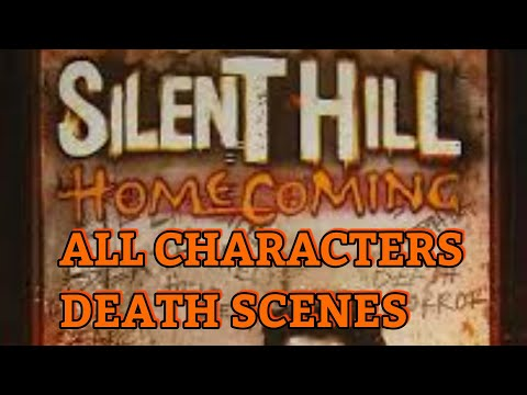 Silent Hill Homecoming | All Characters Deaths |