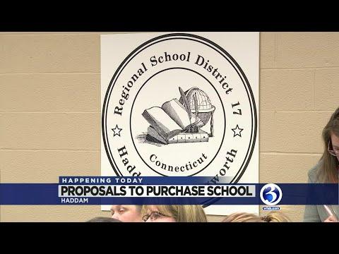 VIDEO: Bid to buy Haddam Elementary School starts today