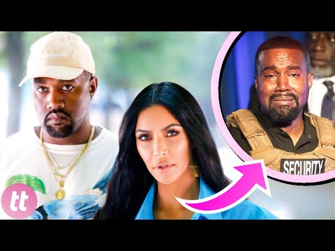 15 Signs Kim And Kanye Were Headed For A Split