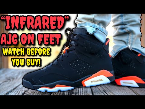 """""""INFRARED"""" AIR JORDAN 6 ON FEET REVIEW! WATCH BEFORE YOU BUY!"""