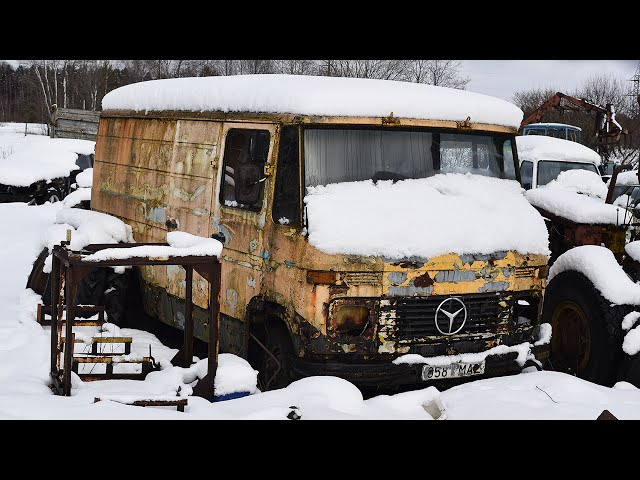 Mercedes-Benz 407D Cold Start After 12 Years (1080p)
