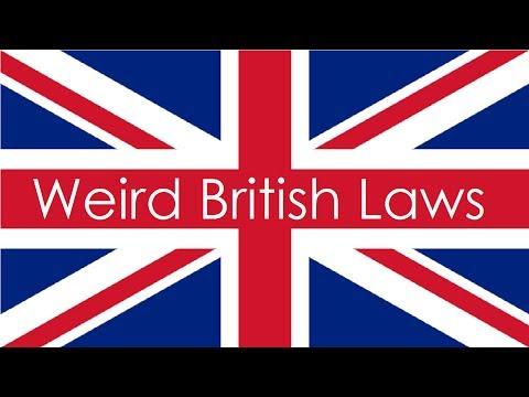 Weird British Laws