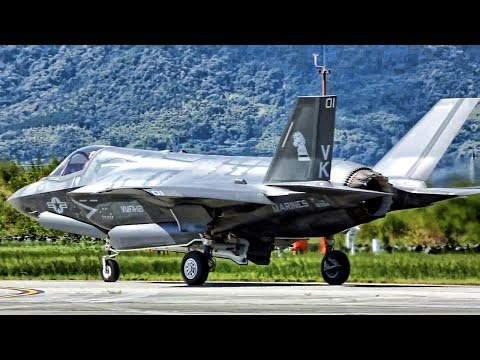 F-35B Fighter Jets Staged In Japan For Strike On North Korea