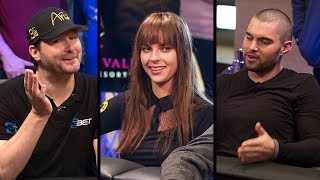 Hellmuth and Winterhalter get PUNISHED by Doc Sands | Poker Night in America S5 E16