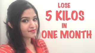 LOSE 5 KILOS IN ONE MONTH CHALLENGE !!!