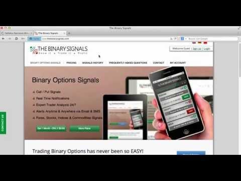 Proveedores señales opciones binarias