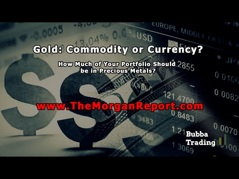 Gold: Commodity or Currency? How Much of Your Portfolio Should be in Precious Metals?