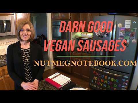 Darn Good Vegan Sausages