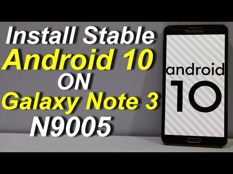 Install Android 10 On Galaxy Note 3 N9005 (Urdu+Hindi)