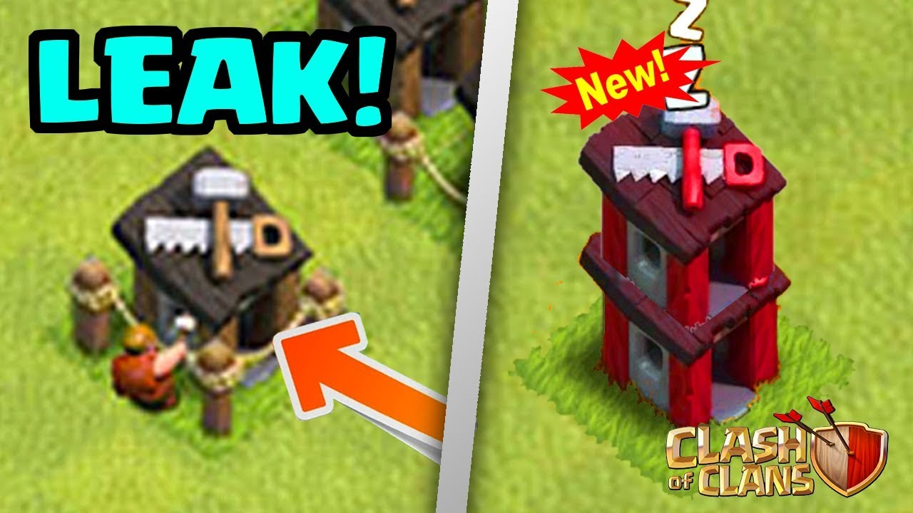 Upgrade Builder Huts New August  Update Leak Clash Of Clans