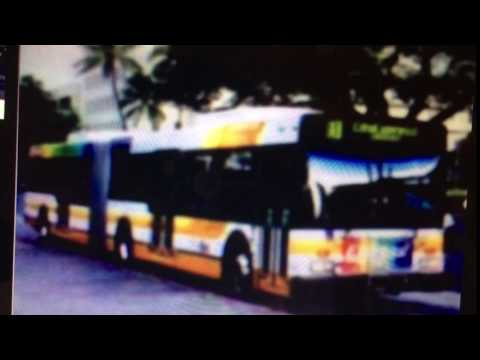 TheBus Honolulu 2000 NewFlyer D60LF Express! Route B Picture