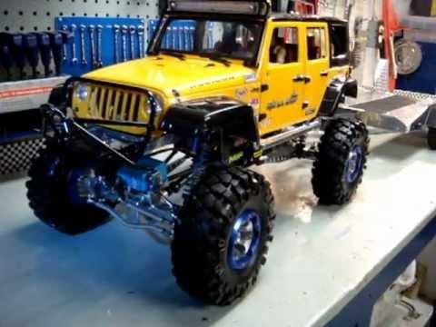 rc jeep 4x4 jk bigdan le super trailer youtube. Black Bedroom Furniture Sets. Home Design Ideas